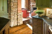 Craftsman Interior - Kitchen Plan #54-391