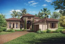 Mediterranean Exterior - Front Elevation Plan #930-449