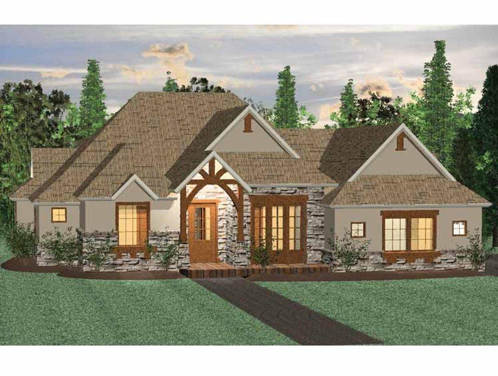 Prairie style house plan 3 beds 2 5 baths 1855 sq ft for Cretin homes evangeline floor plan