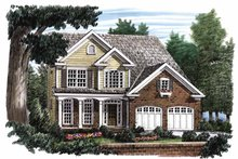Home Plan - Country Exterior - Front Elevation Plan #927-651