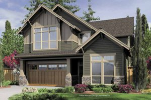 House Design - Craftsman Exterior - Front Elevation Plan #48-848