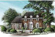 Classical Exterior - Front Elevation Plan #137-325