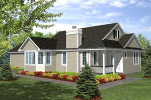 Traditional Exterior - Front Elevation Plan #50-116