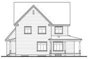 Farmhouse Style House Plan - 4 Beds 2.5 Baths 2376 Sq/Ft Plan #23-587 Exterior - Rear Elevation