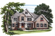 House Plan Design - Country Exterior - Front Elevation Plan #927-826