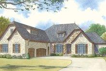 Home Plan - European Exterior - Front Elevation Plan #17-3414