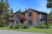 Traditional Style House Plan - 5 Beds 4.5 Baths 3173 Sq/Ft Plan #1066-75 Exterior - Other Elevation