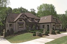 House Plan Design - Tudor Exterior - Front Elevation Plan #453-573