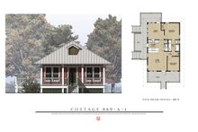House Plan Design - Beach Exterior - Front Elevation Plan #536-2