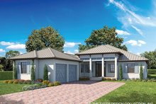 Ranch Exterior - Front Elevation Plan #930-465