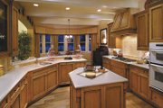 Country Style House Plan - 3 Beds 3.5 Baths 3763 Sq/Ft Plan #930-331 Interior - Kitchen