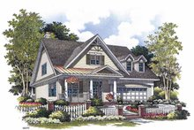House Plan Design - Craftsman Exterior - Front Elevation Plan #929-814