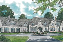Architectural House Design - Country Exterior - Front Elevation Plan #453-245