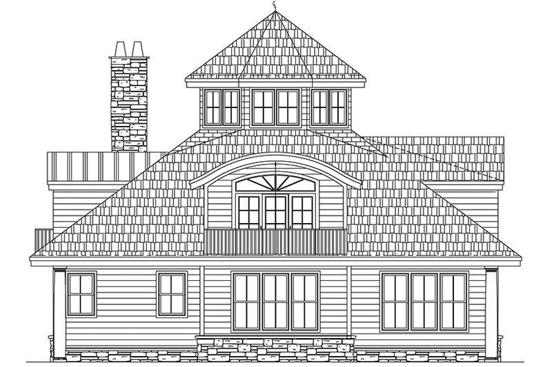 Contemporary Exterior - Other Elevation Plan #1061-7 - Houseplans.com