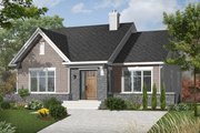 Craftsman Style House Plan - 2 Beds 1 Baths 1207 Sq/Ft Plan #23-2414