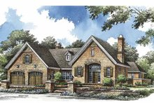 Architectural House Design - Country Exterior - Front Elevation Plan #929-773