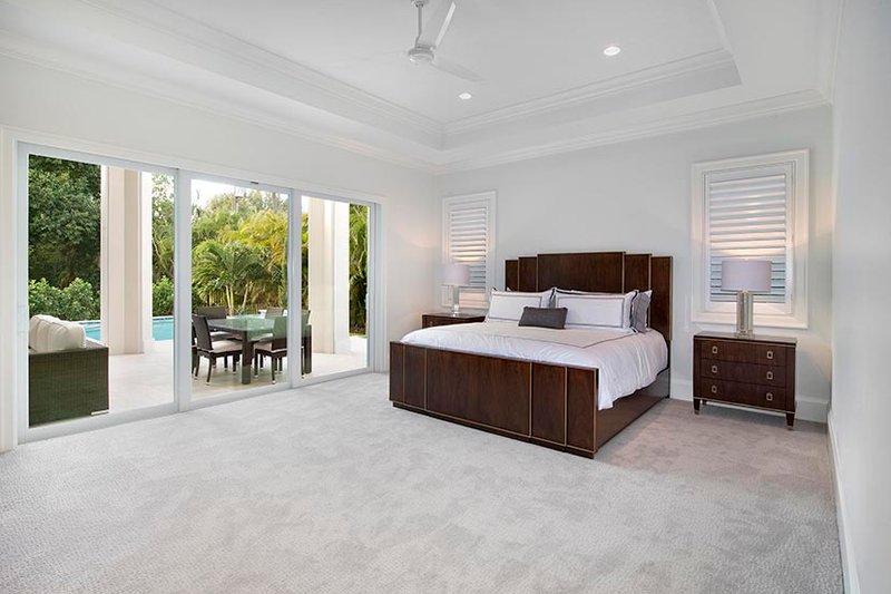 Mediterranean Interior - Master Bedroom Plan #1017-159 - Houseplans.com