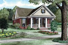 Home Plan - Country Exterior - Front Elevation Plan #17-2903