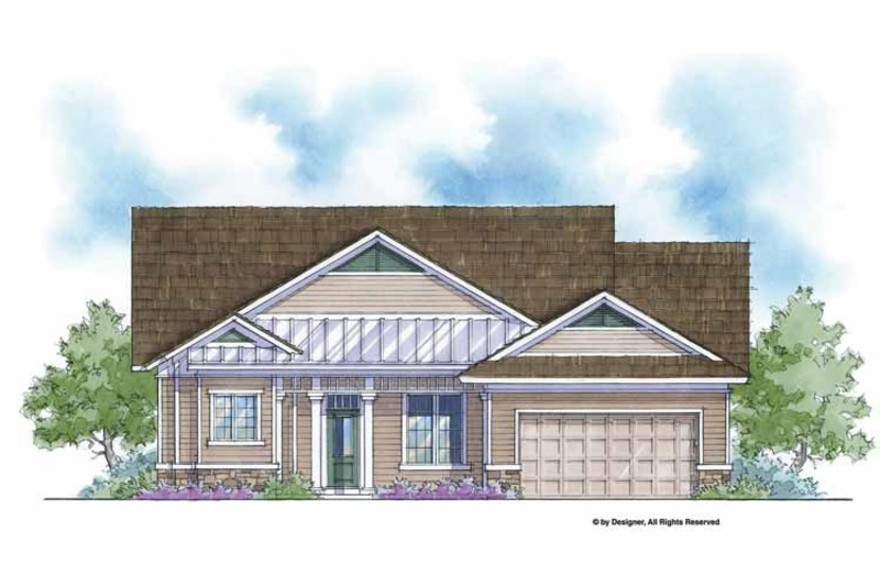 Country Exterior - Front Elevation Plan #938-52 - Houseplans.com