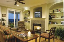 Country Interior - Family Room Plan #930-142