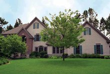 Architectural House Design - Traditional Exterior - Front Elevation Plan #51-778