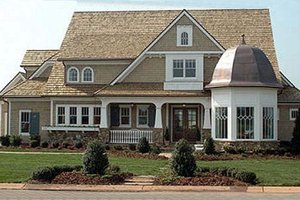 Architectural House Design - Craftsman Exterior - Front Elevation Plan #413-122