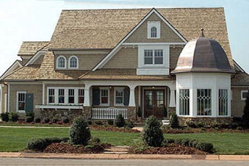 Dream House Plan - Craftsman Exterior - Front Elevation Plan #413-122