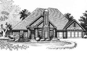 Traditional Exterior - Front Elevation Plan #310-786