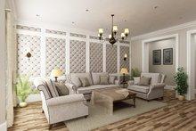 Ranch Interior - Family Room Plan #45-574