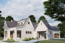 Dream House Plan - Modern Exterior - Other Elevation Plan #923-198