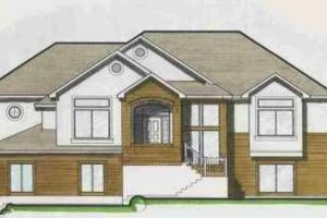 Traditional Exterior - Front Elevation Plan #308-114