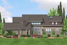 Craftsman Exterior - Rear Elevation Plan #48-364