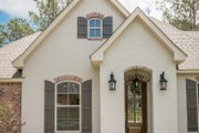 European Style House Plan - 3 Beds 2 Baths 1715 Sq/Ft Plan #430-84 Exterior - Front Elevation