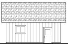 Dream House Plan - Traditional Exterior - Other Elevation Plan #124-1039