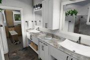 Cottage Style House Plan - 3 Beds 2 Baths 1302 Sq/Ft Plan #120-273 Interior - Master Bathroom