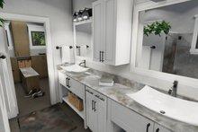 Cottage Interior - Master Bathroom Plan #120-273