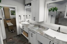 Dream House Plan - Cottage Interior - Master Bathroom Plan #120-273