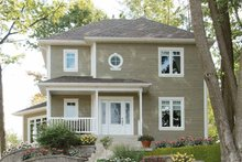 Dream House Plan - Traditional Exterior - Front Elevation Plan #23-2325
