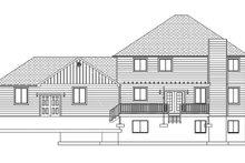 Traditional Exterior - Rear Elevation Plan #1060-8