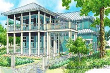 Country Exterior - Front Elevation Plan #930-88