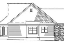 Contemporary Exterior - Other Elevation Plan #17-2798