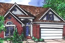 Home Plan - Traditional Exterior - Front Elevation Plan #320-450