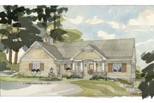 House Design - Country Exterior - Front Elevation Plan #928-86