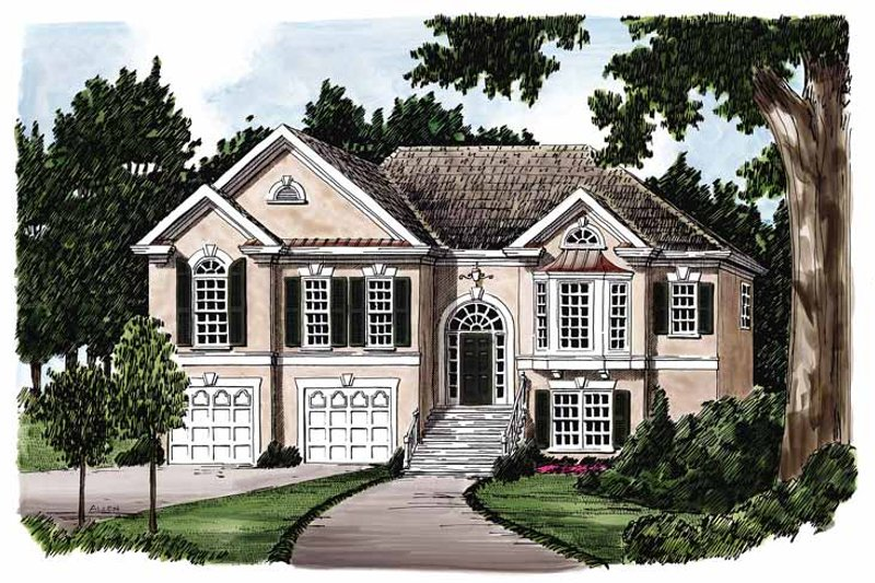 Traditional Exterior - Front Elevation Plan #927-114 - Houseplans.com