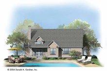 House Design - Ranch Exterior - Rear Elevation Plan #929-734