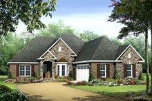 Home Plan - European Exterior - Front Elevation Plan #21-281