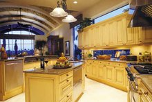 Mediterranean Interior - Kitchen Plan #930-316