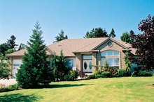 House Plan Design - Ranch Exterior - Front Elevation Plan #47-848