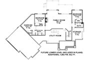 Craftsman Style House Plan - 3 Beds 2.5 Baths 2881 Sq/Ft Plan #51-579 Floor Plan - Lower Floor Plan