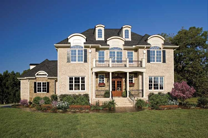 Dream House Plan - Country Exterior - Front Elevation Plan #929-678